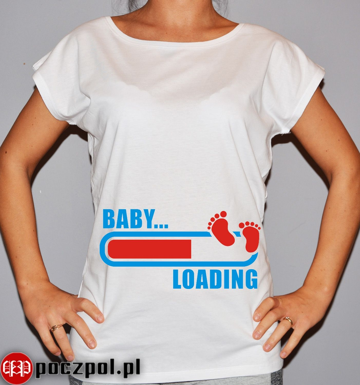 Baby Loading Damskie Koszulki Koszulki I Vogue