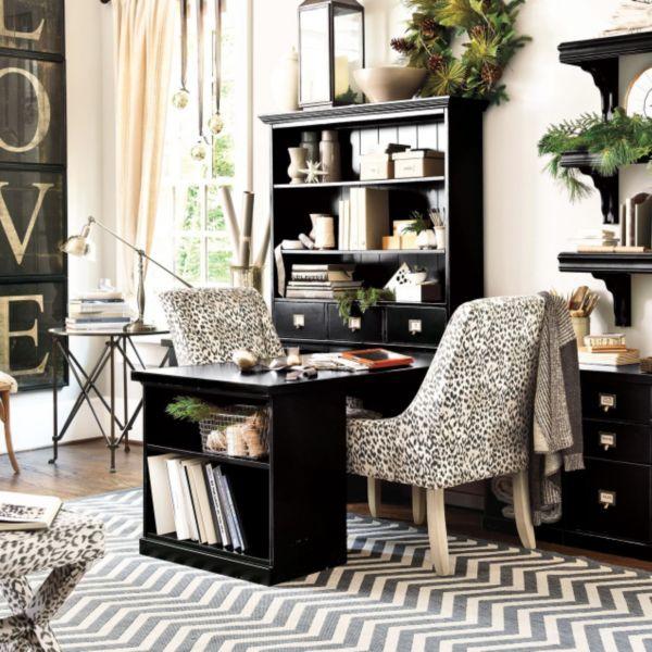 Original Home Office™ Desk Return With Open Shelf Cabinet