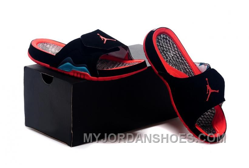 91a3a189b232c Jordan Hydro VII Retro 7 Hare Men Sliders Black Red 40-47 XzmCS in ...