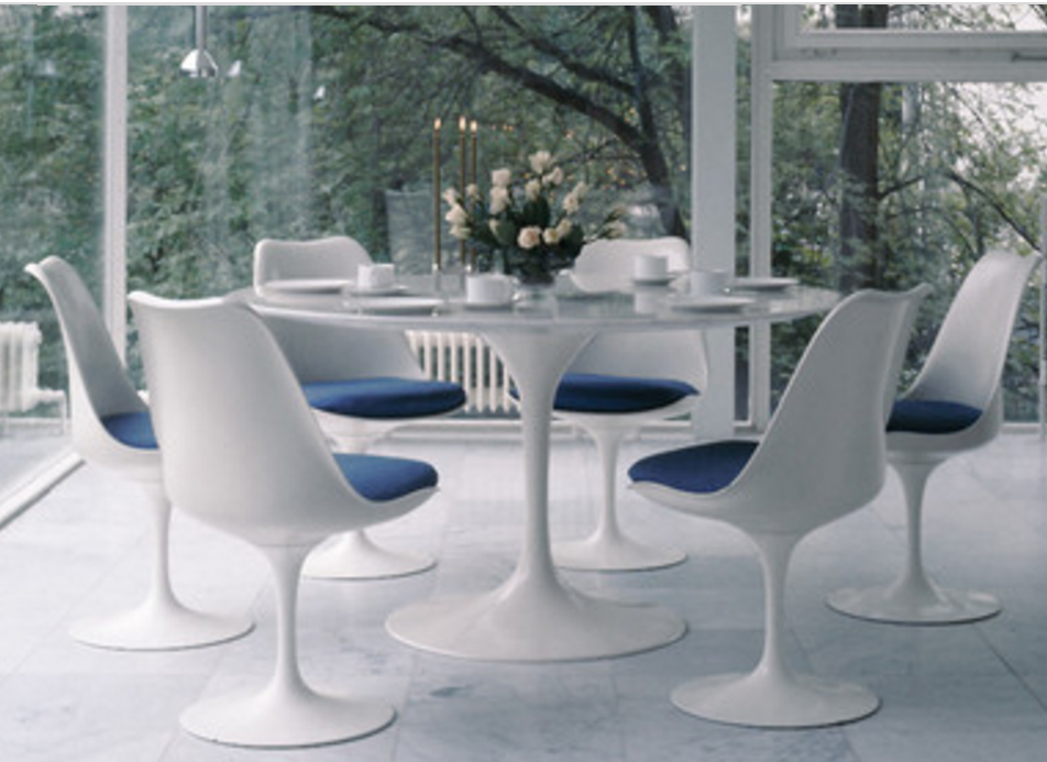 6 Tulip Tables For A Mid Century Modern Dining Room Cute Furniture Tulip Dining Table Saarinen Tulip Table Modern Scandinavian Furniture