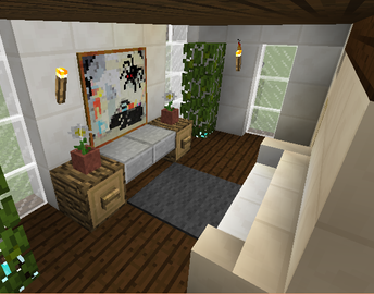 Modern House 19 Grabcraft Your Number One Source For Minecraft Buildings Blueprints Tips Ideas Floo Minecraft Room Minecraft Houses Minecraft Furniture