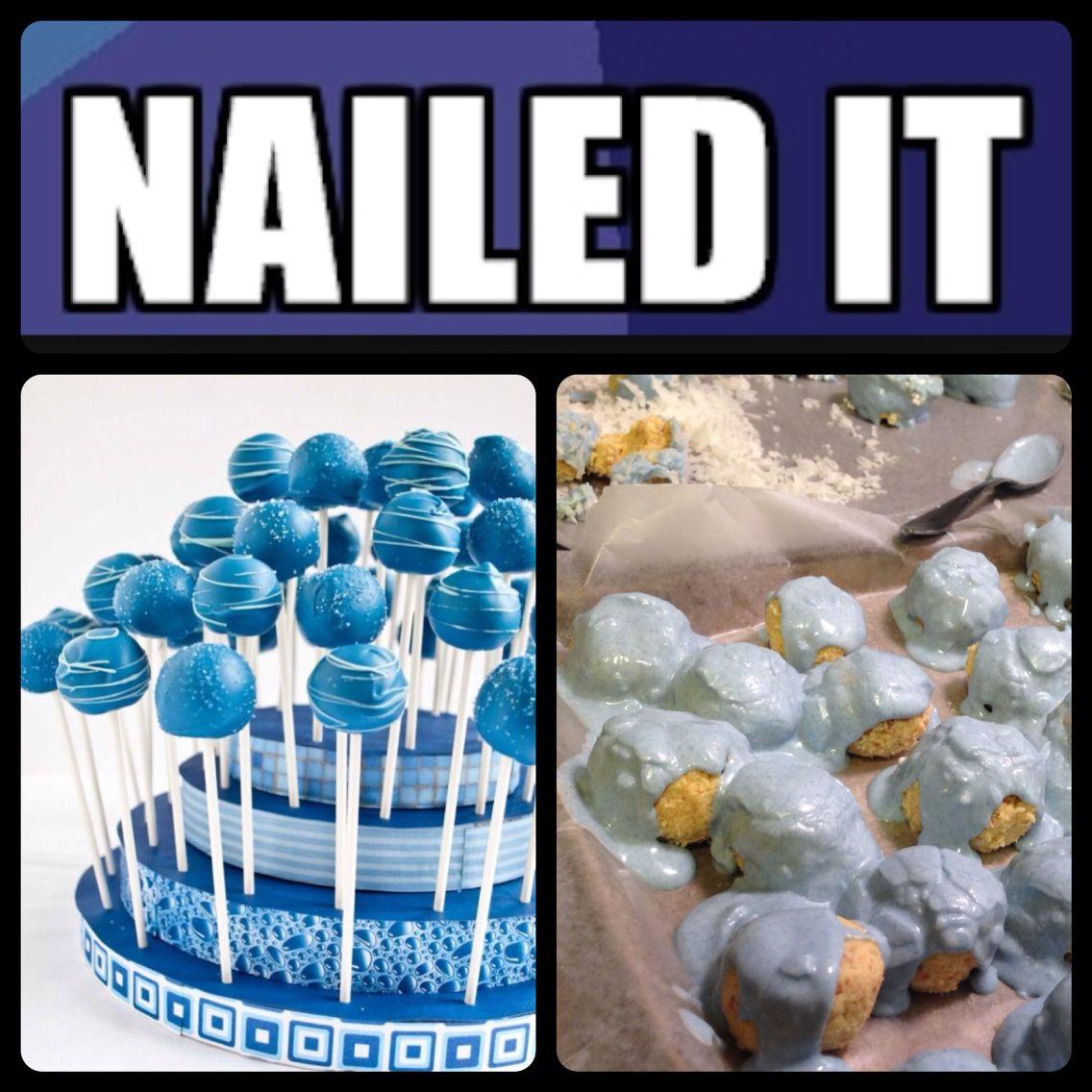 cakepopfail cake pop baking fail nailedit nailed