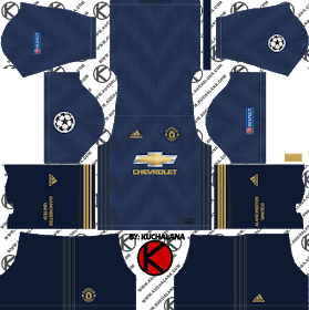 Manchester United Kit 2019 2020 Dream League Soccer Kits And Logo In 2020 Manchester United Team Manchester United Third Kit Manchester United