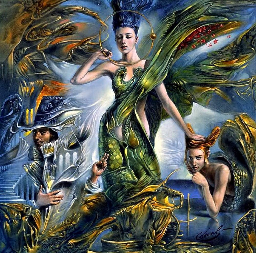 picturesque famous living artists today. Michael Cheval is one of the world s most famous contemporary artists  working in direction picturesque metaphorical absurdity 1966
