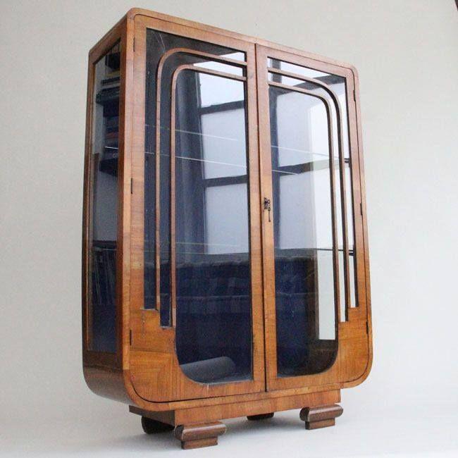 Cool Art Deco Kitchen Cabinets: Art Deco Cabinet Ca.1935 #artDeco