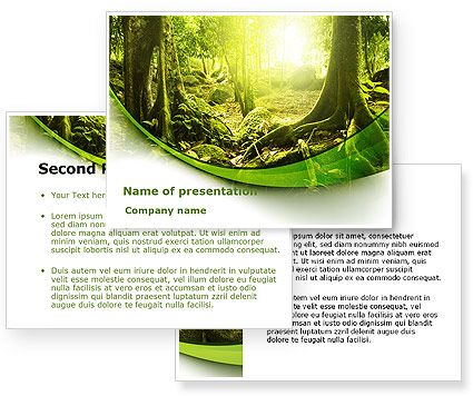 This is a PowerPoint Template #09472 that I have just liked at - new jungle powerpoint template