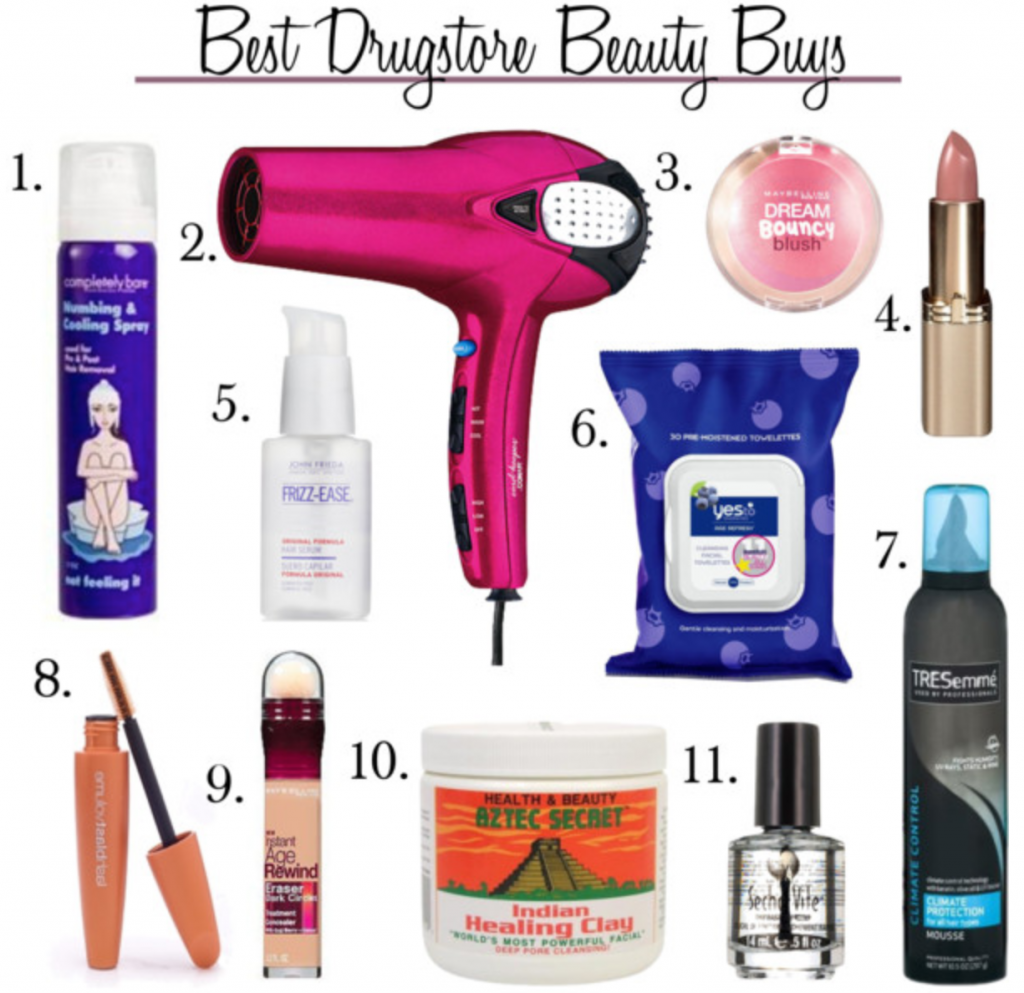 Eleven Epic Drugstore Beauty Buys (Capitol Hill Style