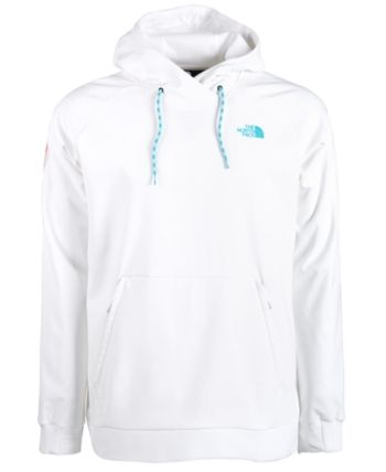a8d83ba11ee5 The North Face Men's Tekno Fresh Standard-Fit Performance Stretch Logo  Hoodie - White M
