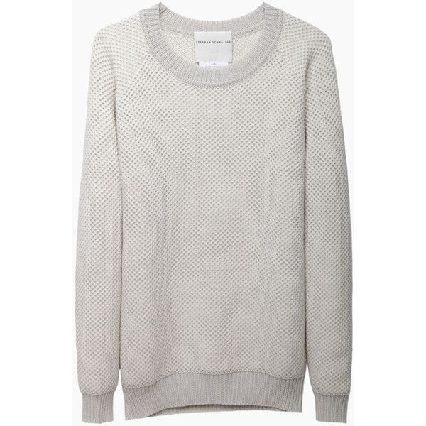 Stephan Schneider Frost Jumper (€150) ❤ liked on Polyvore featuring tops, sweaters, slouchy pullover sweater, slouch sweater, pullover sweater, long tops y sweater pullover