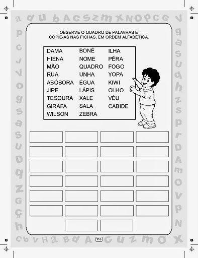 Clube Da Cor Atividades Escolares 20 Atividades De Portugues