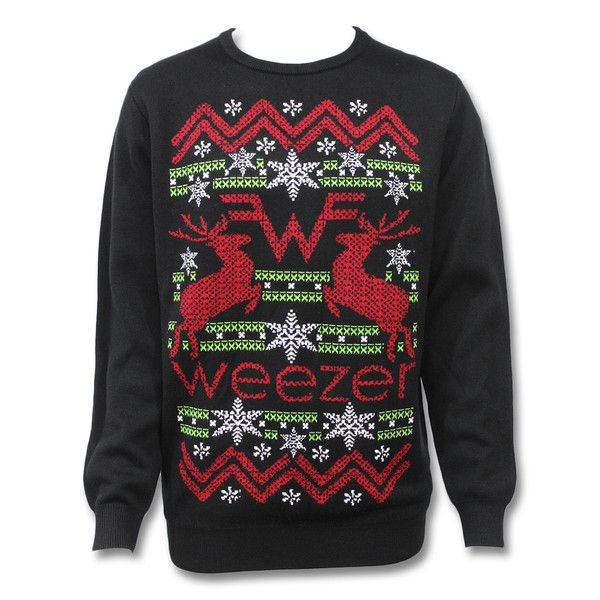 weezer christmas shirt holiday sweater christmas shirts christmas sweaters weezer band merch - Band Christmas Sweaters