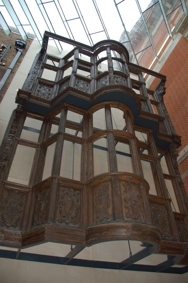 Medieval and Renaissance Galleries - 17th Century London Shop Exterior