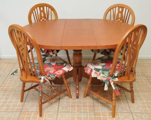 Mesa De Jantar Oval Almofadas Para Cadeiras Cadeiras Sala De
