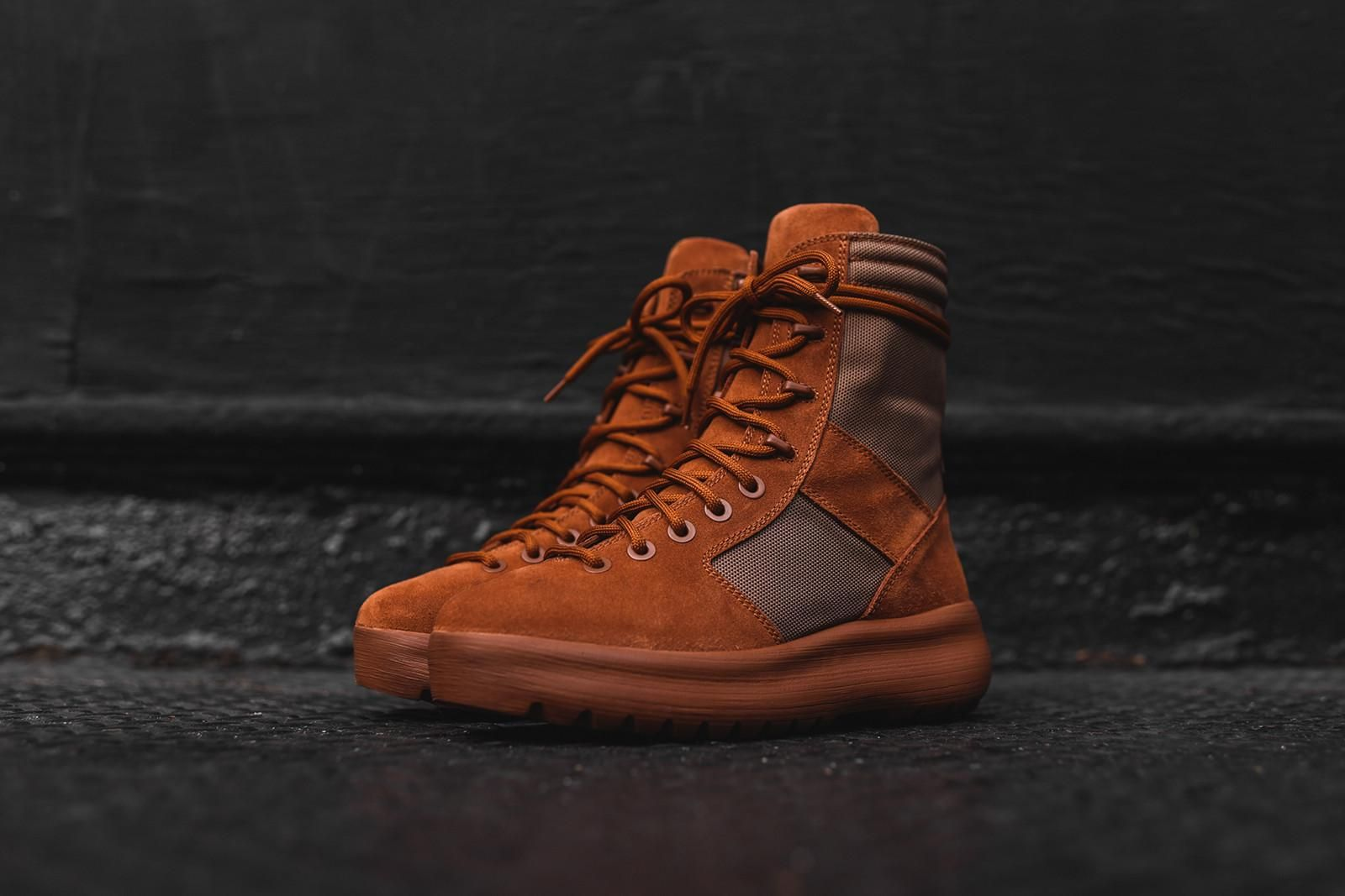 1b5e7f417d266 Yeezy Military Boot - Burnt Sienna – Kith NYC