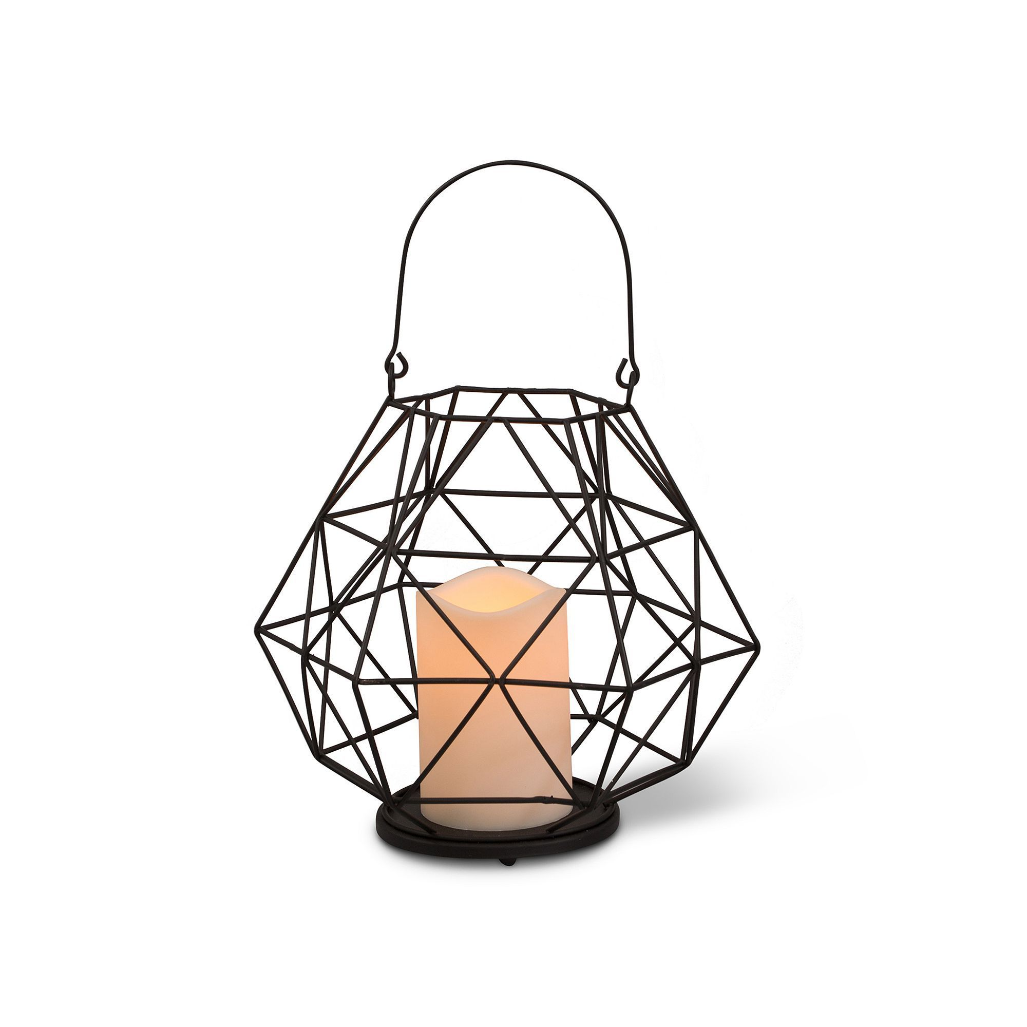 Outdoor Led Kerzen Gerson Indoor Outdoor Geometric Led Candle Lantern Products