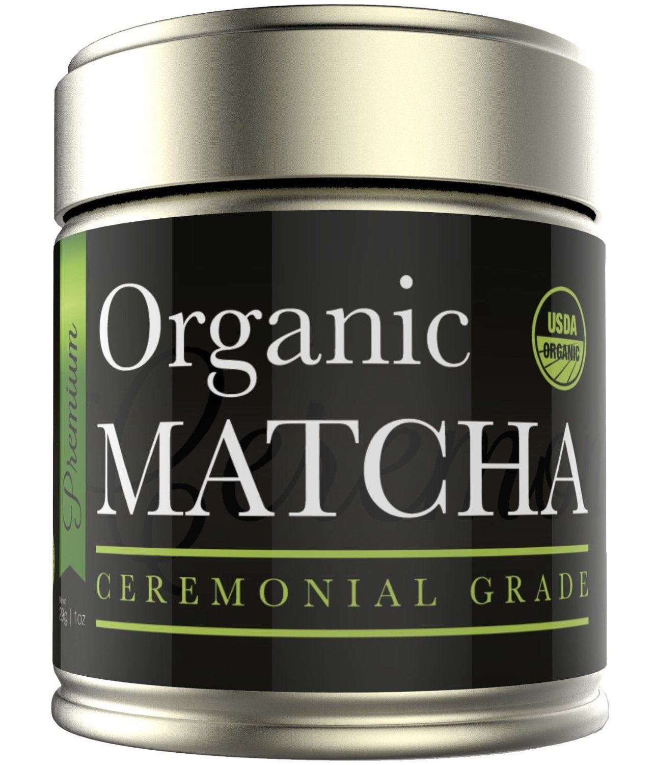 """Kiss Me Organics - ORGANIC Matcha Ceremonial Grade - Japanese; PRICE: $28; 137 times more Antioxidants than standard Chinese TEA; reduced RISKS of: Cardiovascular disease (65%); Hypertension (55%); Stroke (31%); L-Theanine (Amino Acid) to boost mental focus/energy/mood/calmness; fat/sugar free; 3 Cal./g. """"Good QUALITY at a reasonable PRICE."""" -- By A. Mouse. MORE via: http://sd4shila.creativesolutionstore.com OR http://www.sd4shila.net/amazon-com OR…"""