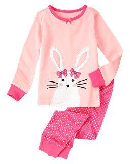Bunny Dot Two-Piece Gymmies®     bg.. so stinking cute!