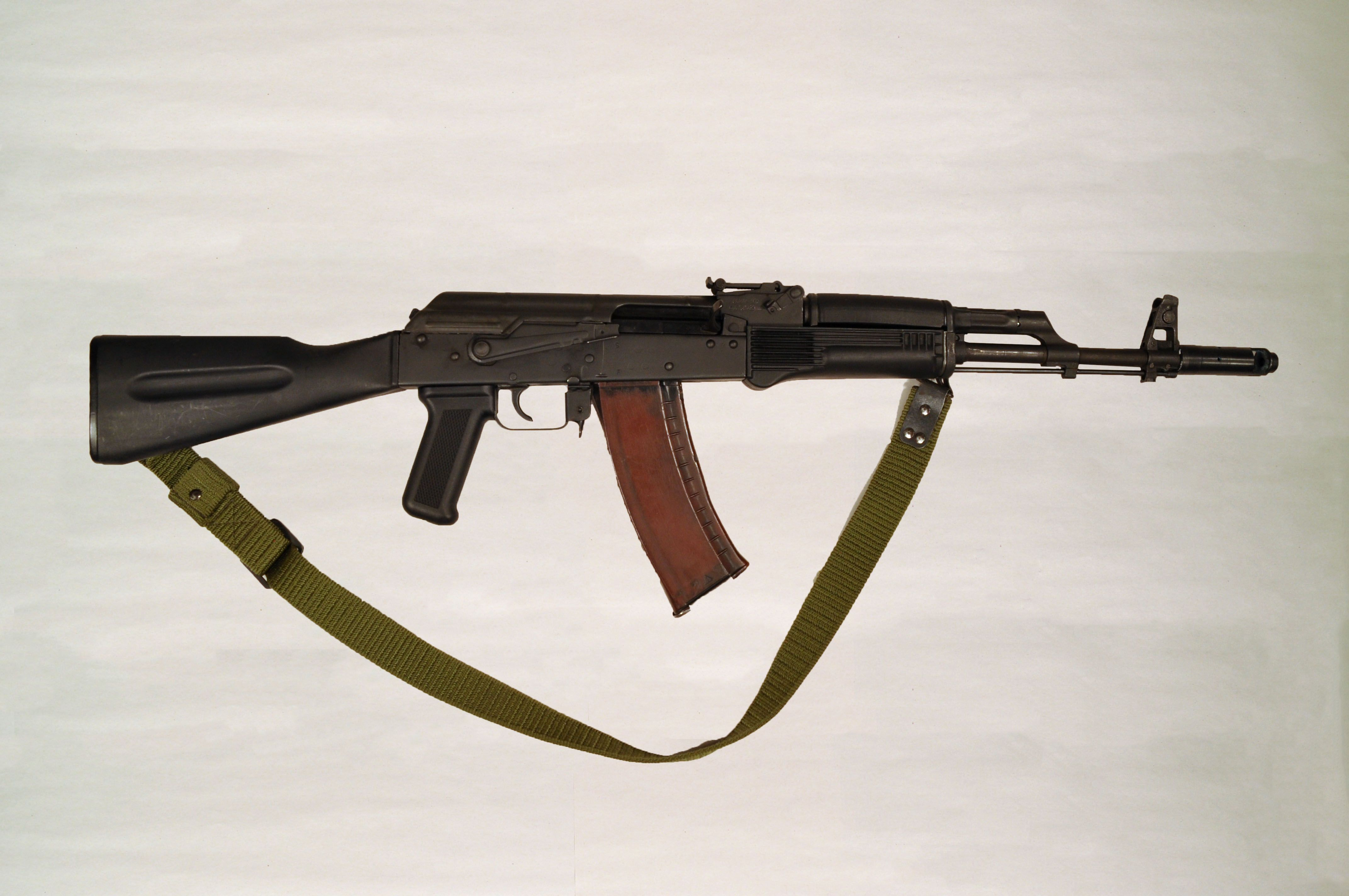 Bulgarian AK-74 with a RED plum magazine | The Best of AK-47