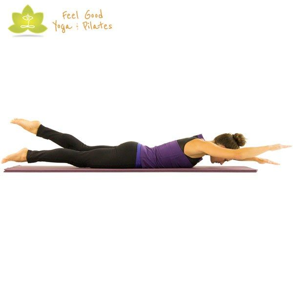 Swimming Pilates Mat Exercise