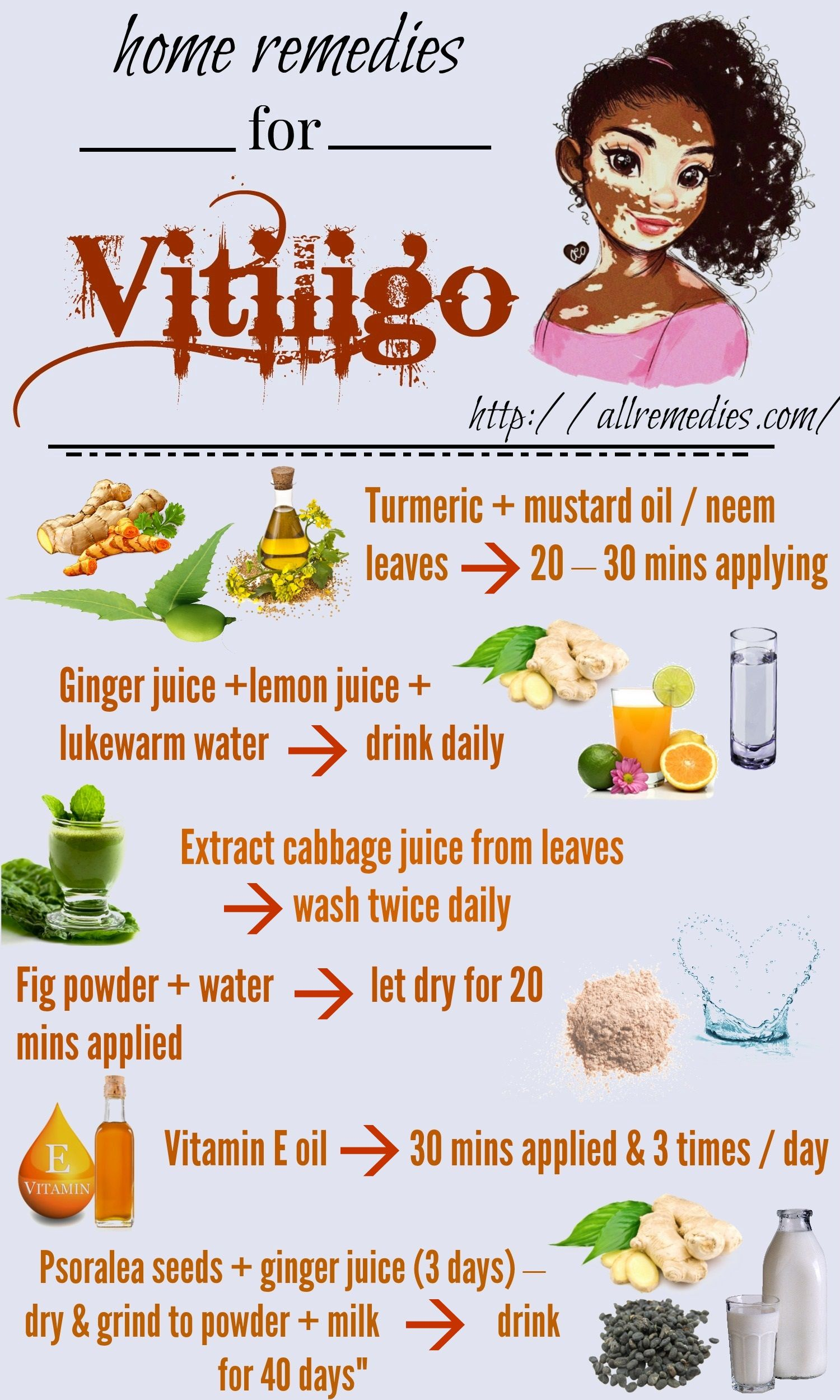 46 Natural Home Remedies For Vititligo Disease Natural Home Remedies Holistic Health Remedies Vitiligo Cure