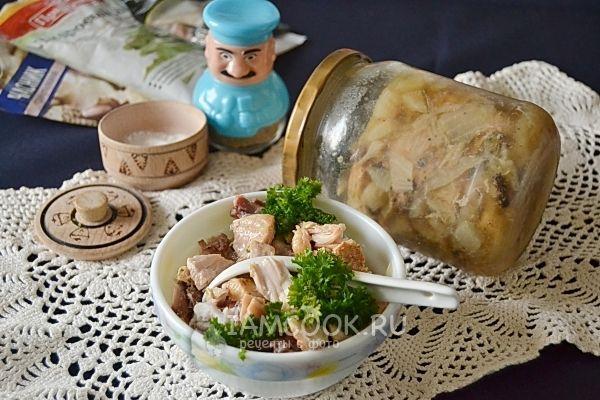тушенка в домашних условиях рецепт из курицы