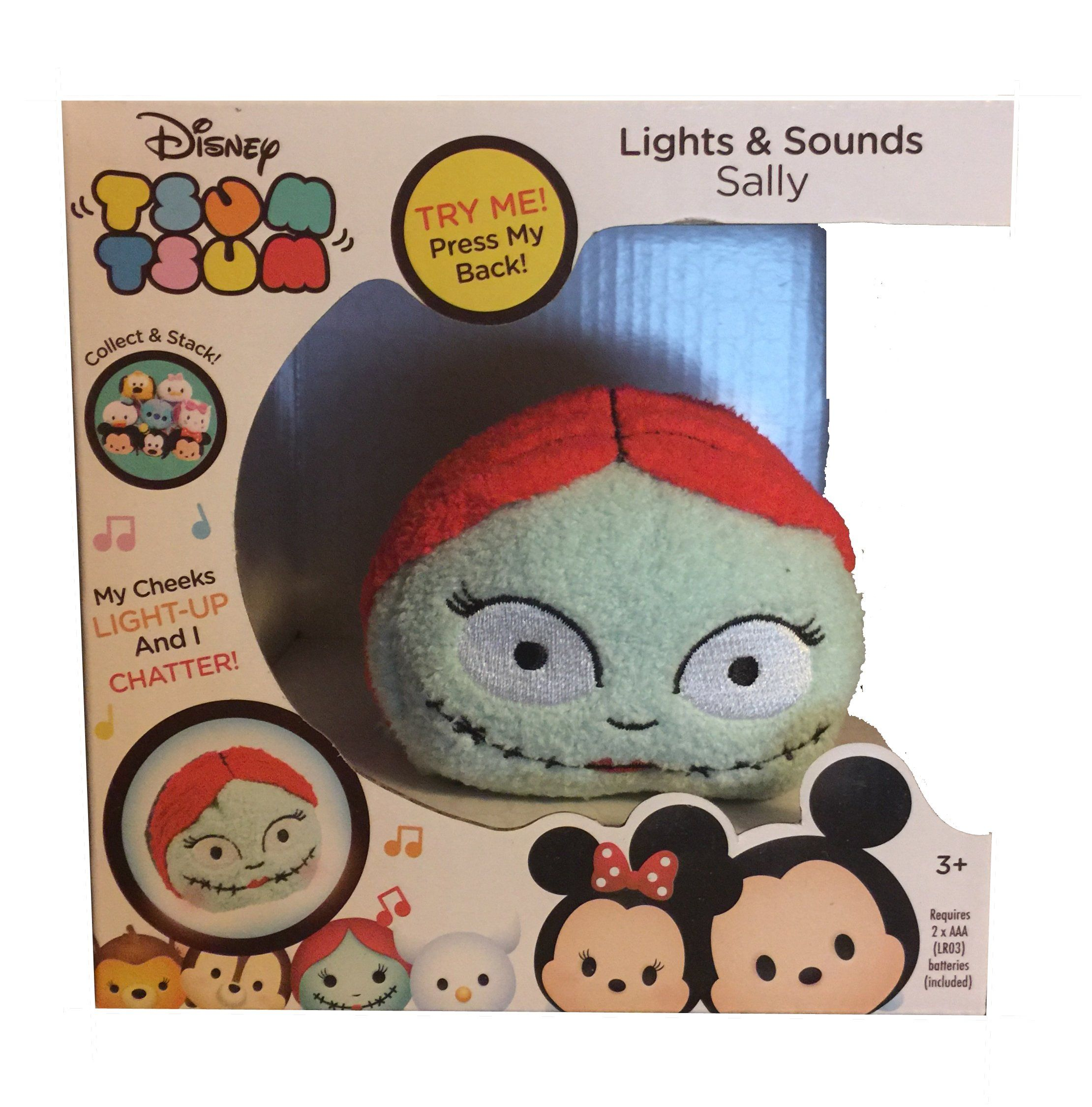 Disney Tsum Tsum Lights & Sounds Sally Plush -- Awesome products ...