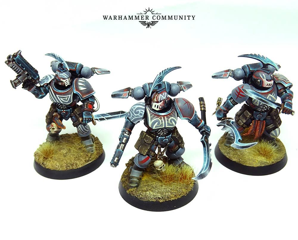 Hunters in the Void: Seyni N'Diaye's Carcharodons - Warhammer