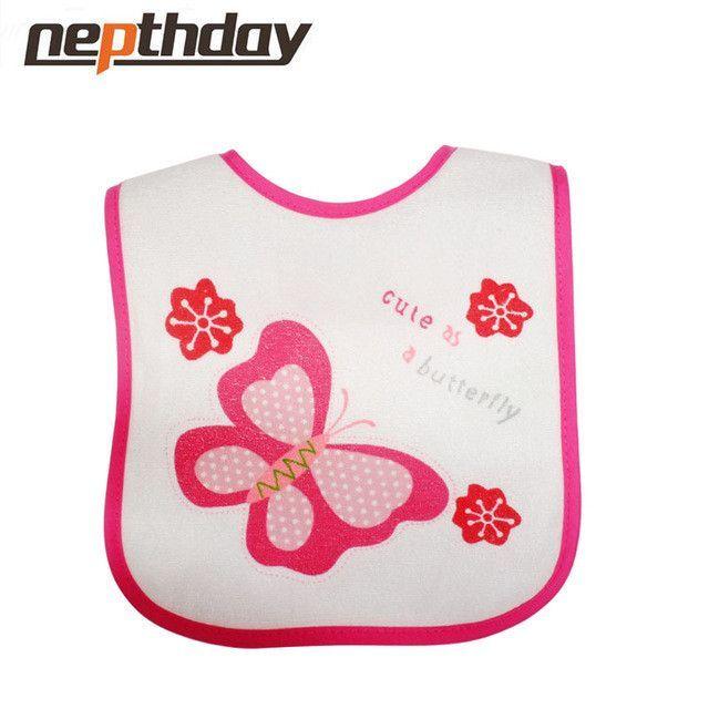 Baby bib Infant saliva towels Baby Waterproof bib solid bib with embroider Baby feeding wear 8 models for choose