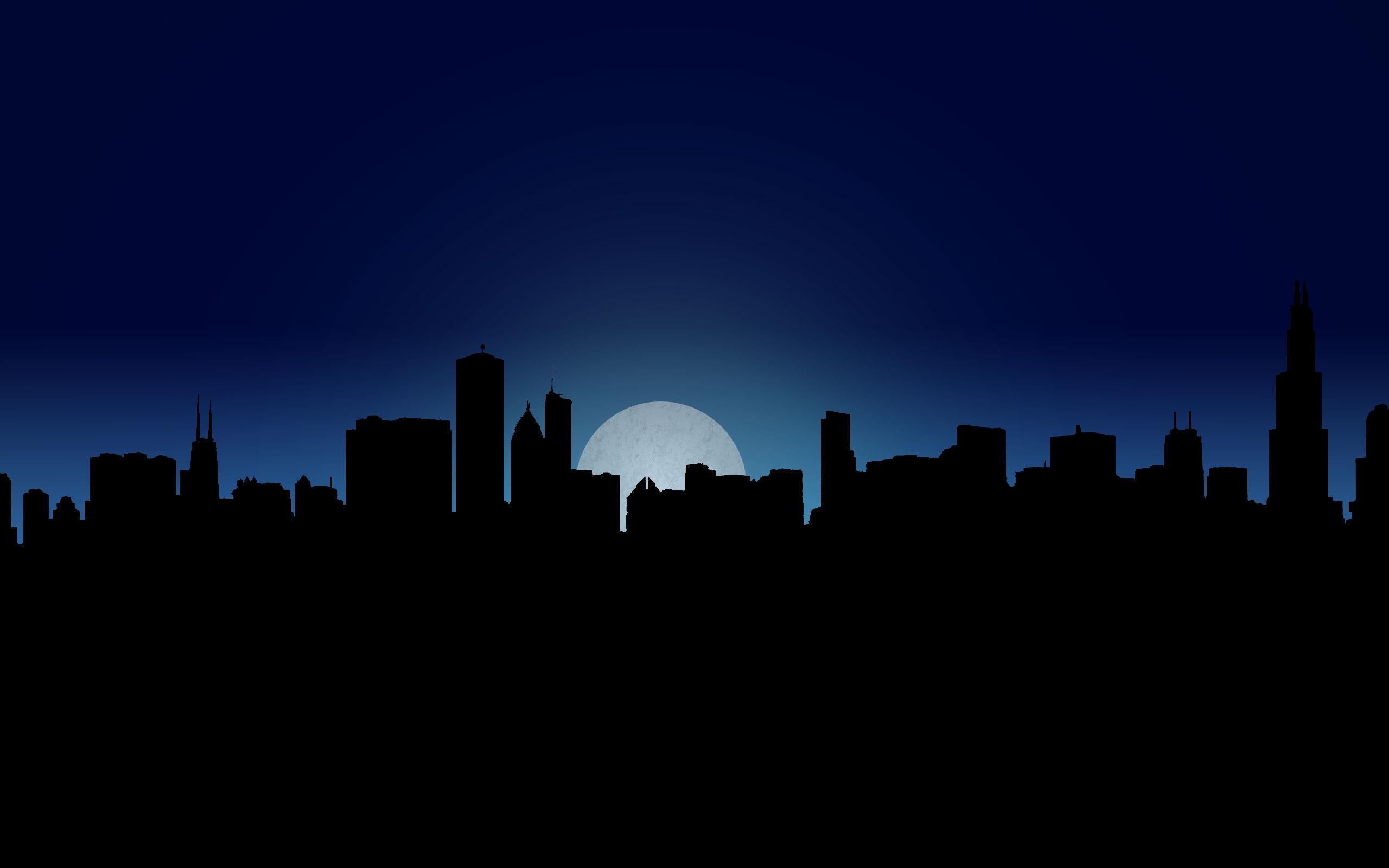 Обои ночной город, ночь, seattle. Города
