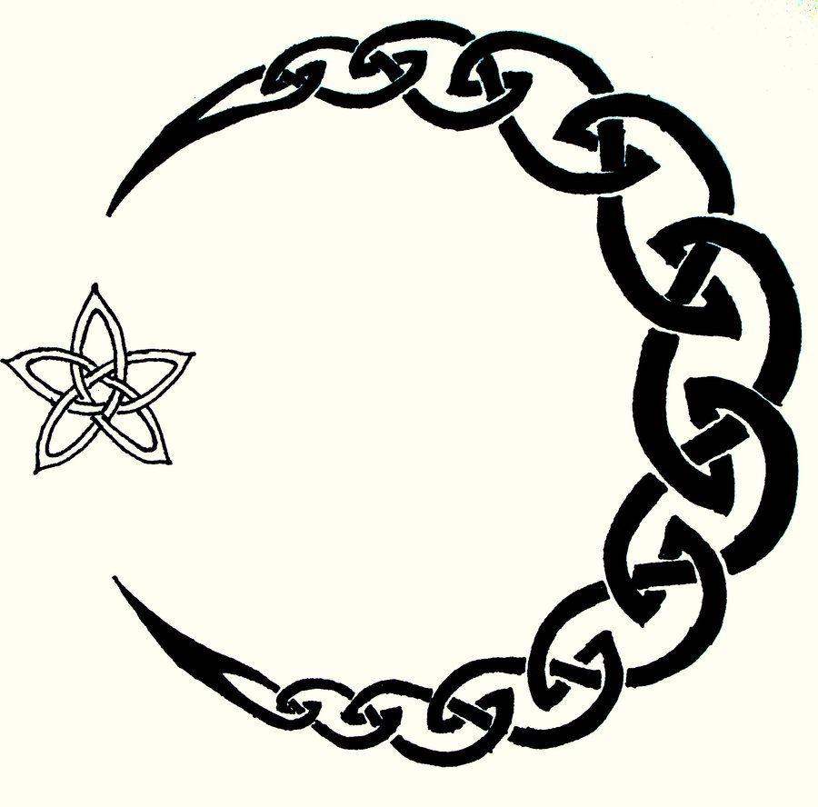 celtic symbols | ... symbols, Celtic Moon Tattoo by ...