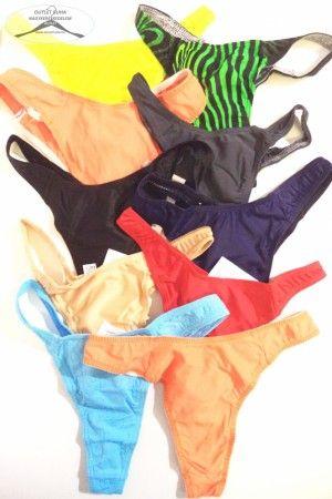 10 darab S-s női napozó alsó, vegyes színben