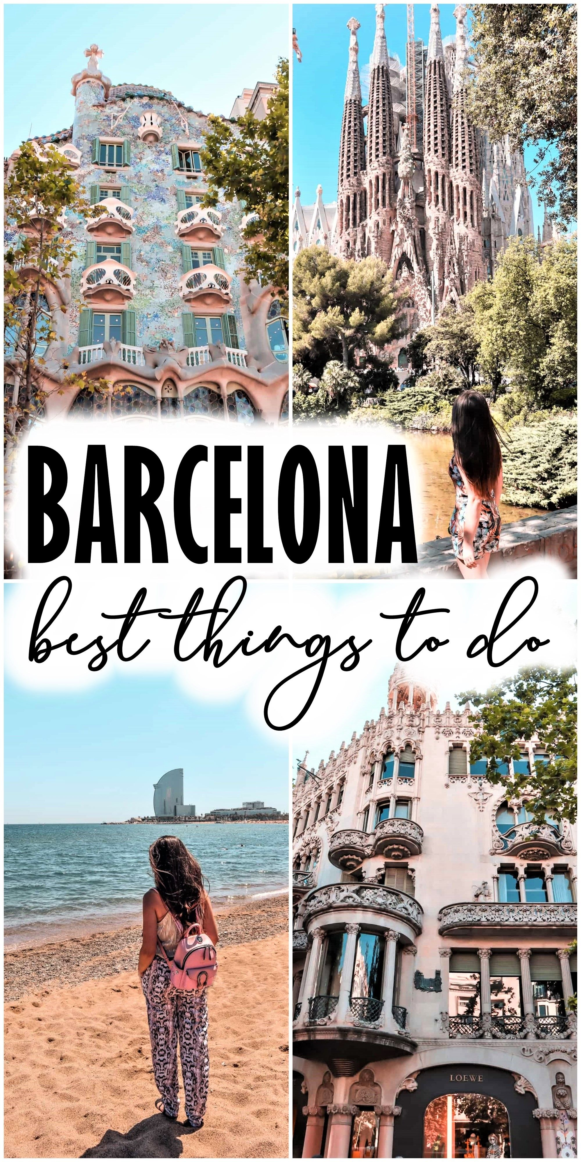 I believe that Barcelona can successfully compete for the title of the best destination for a city break in Europe. 2 days in Barcelona are enough to taste a little of everything I listed above. Especially since it is quite easy to get around the city. barcelona | best things to do in barcelona | where to stay in barcelona | places to visit in barcelona | 2 days in barcelona | barcelona spain | barcelona travel guide #barcelona #visitbarcelona #barcelonatravelguide #spain #2daysinbarcelona