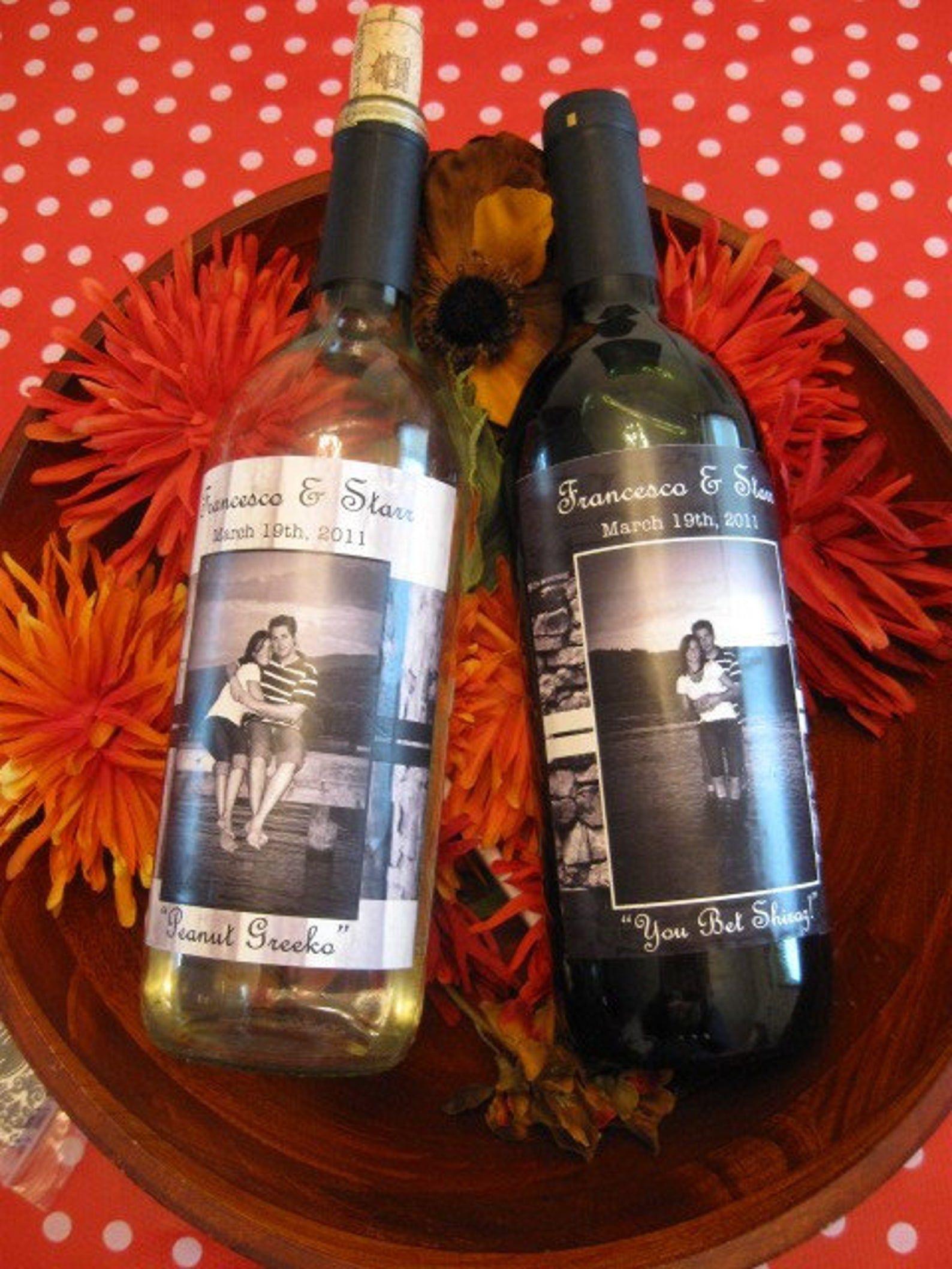 Wine Bottle Labels Custom Design And Printing With Etsy In 2020 Wine Bottle Labels Wine Bottle Wine Bottle Labels Wedding