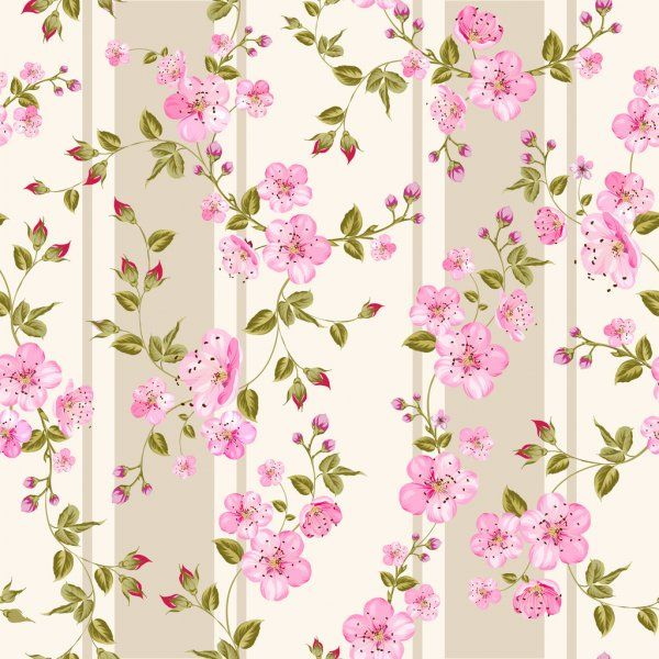 Modelo floral sin costuras. ilustración vectorial