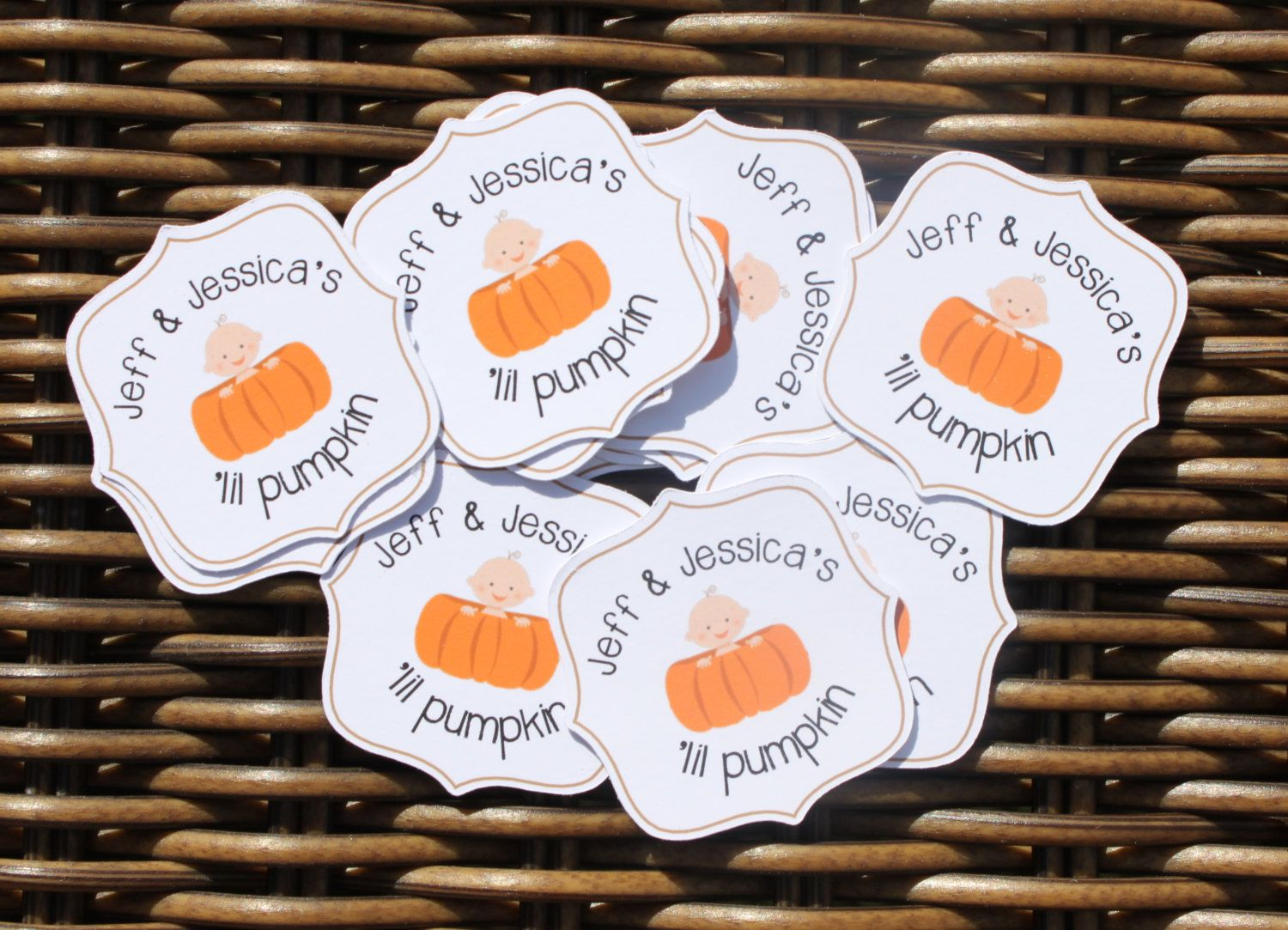 pumpkin gender reveal scratch off stickers fall gender reveal stickers gender reveal stickers