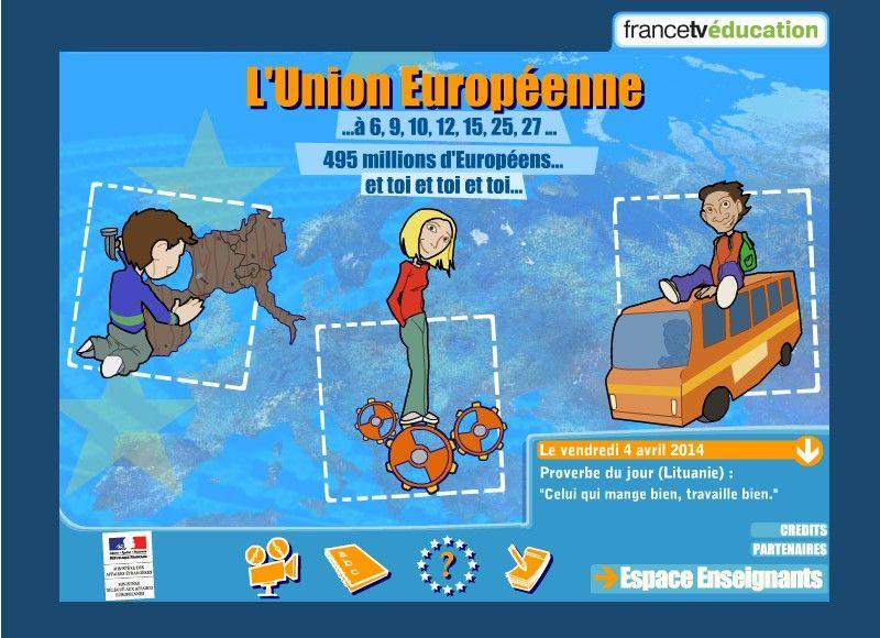 Découvrir la construction de l'Europe, les institutions européennes, les voyages en Europe...