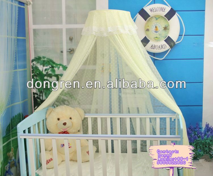 Baby Crib Net Canopy | decorative baby mosquito net cot for DRKCMN View baby mosquito : mosquito net canopy for cribs - memphite.com