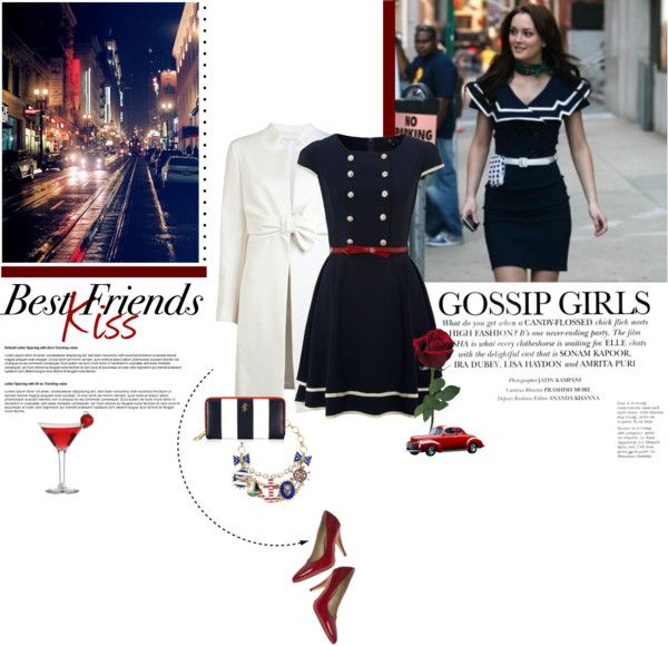"""""""Gossip Girls"""" by tinkerbellfee ❤ liked on Polyvore"""