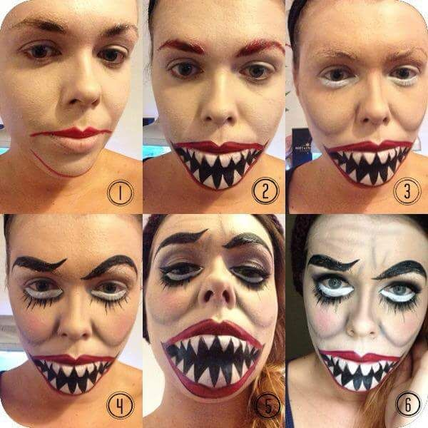 80 Crazy Halloween Makeup Tutorials For This Festive Season