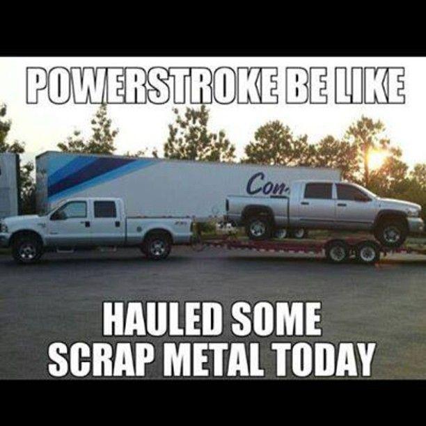 Scrap Truck Meme - Diesel Truck Gallery