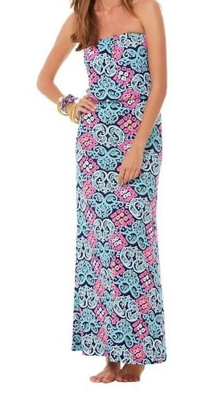 Lilly Strapless Maxi Dress