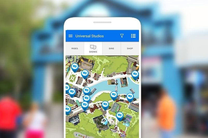 With The Official Universal Orlando Resort App You Can Get Detailed Maps For Universal St Universal Orlando Universal Studios Orlando Universal Studios Florida