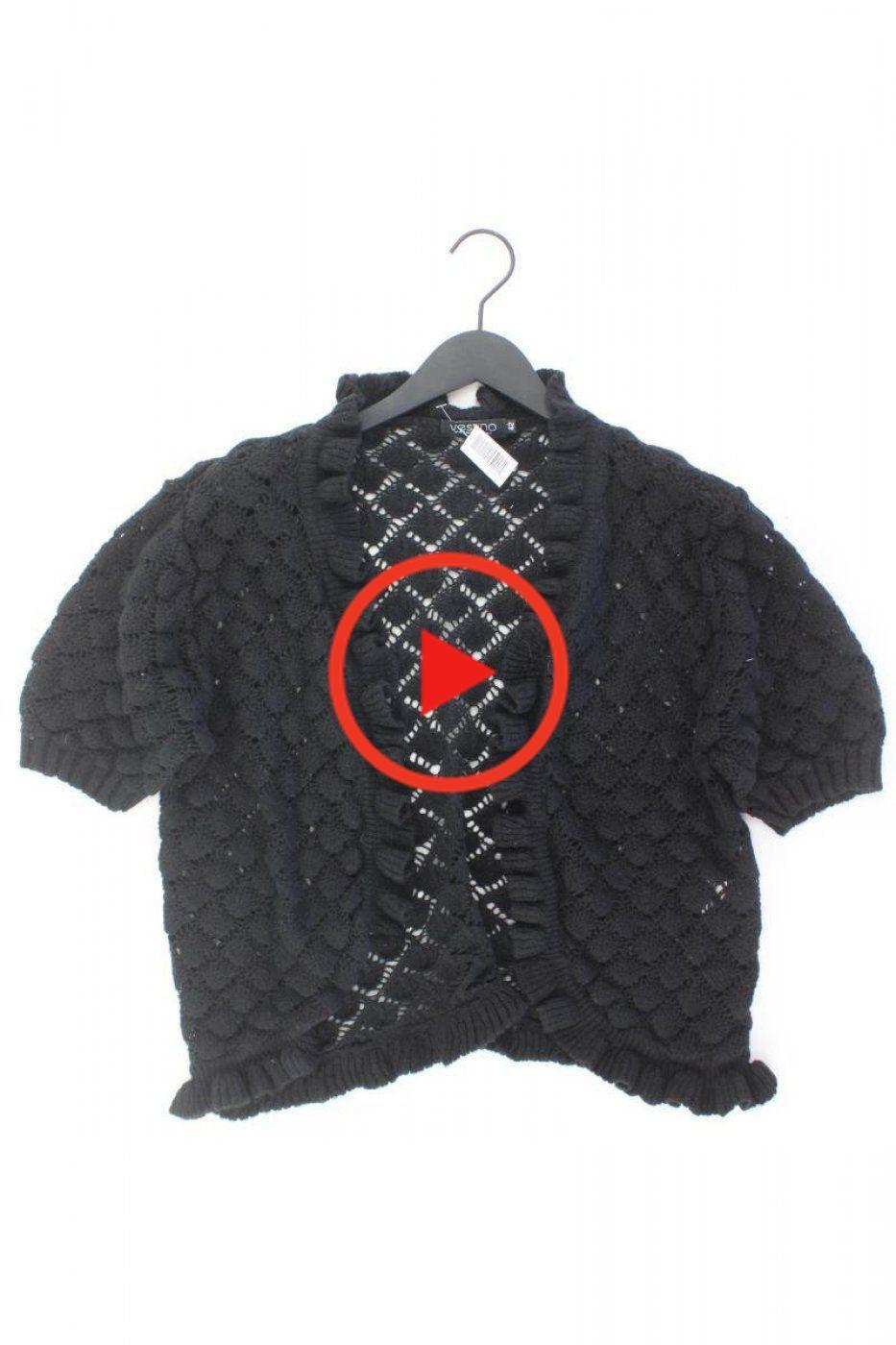 Vestino Cardigan Schwarz Größe L Schwarz Größe L Schwarz Farbe