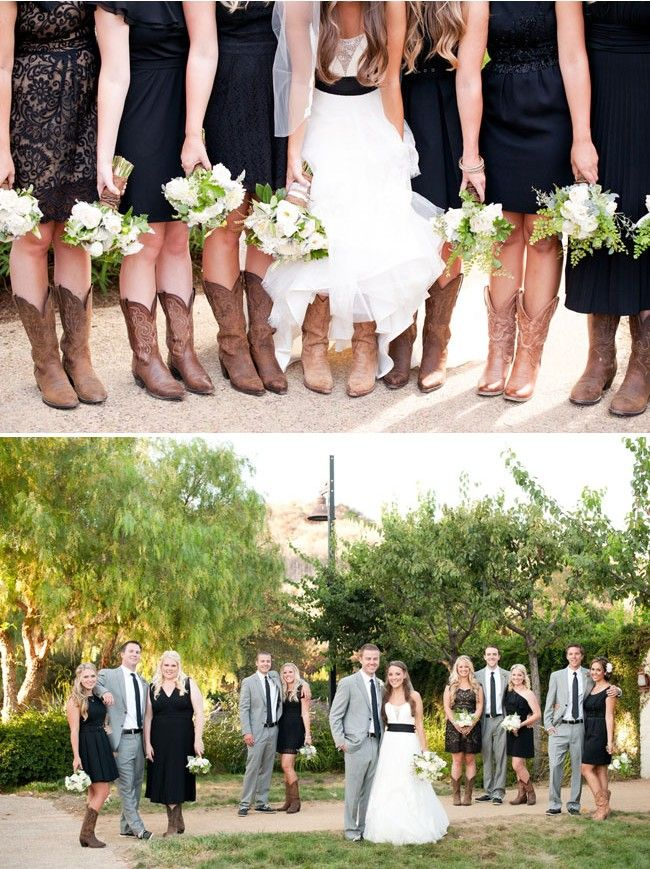 Wearing Cowboy Boots On Your Wedding Day Wedding Cowboy Boots