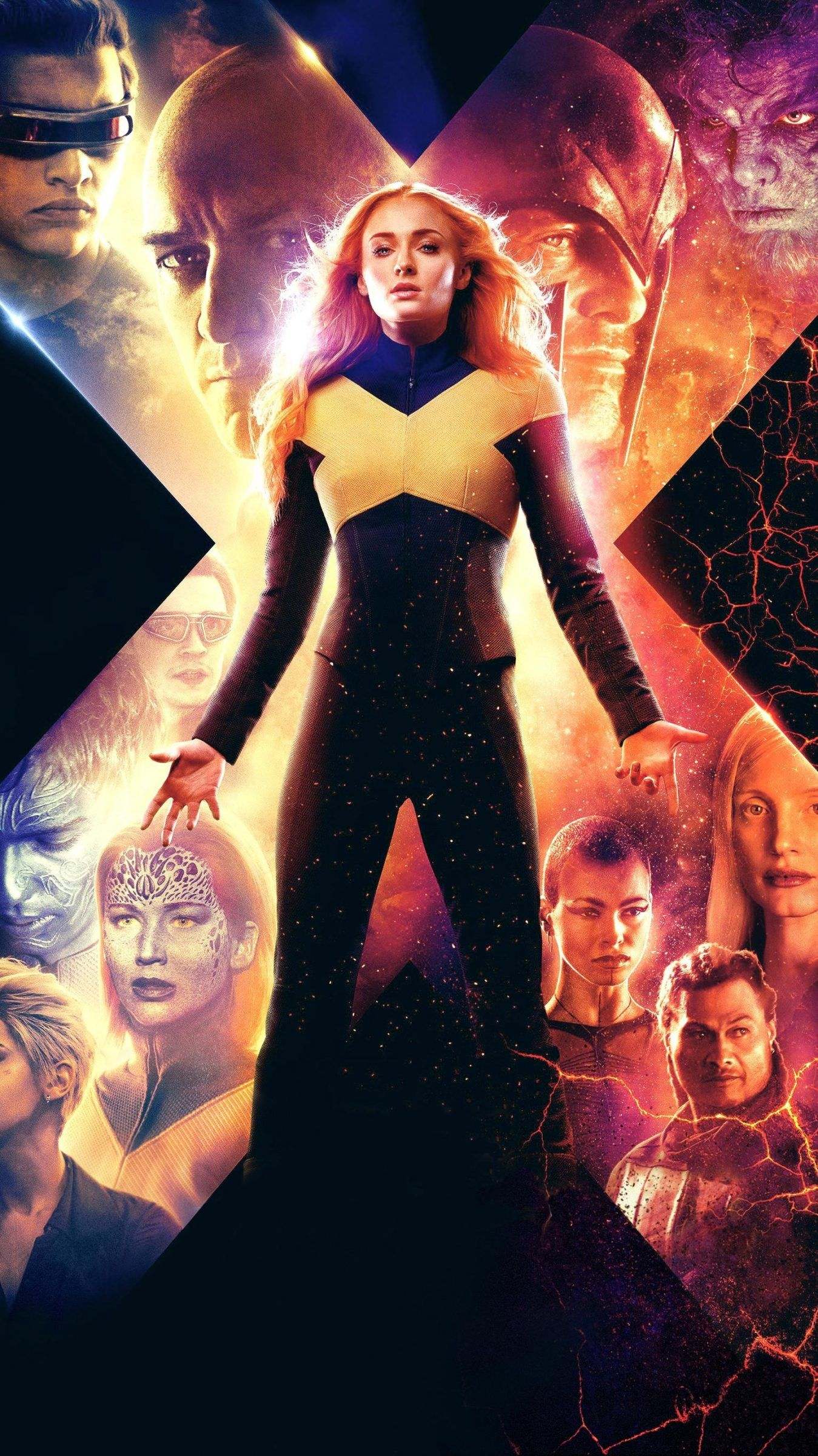 X Men Dark Phoenix Hd Wallpapers 7wallpapers Net Dark Phoenix Phoenix Wallpaper X Men