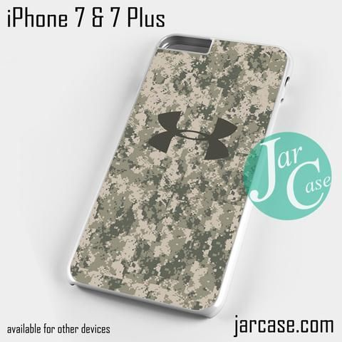 under armour iphone 7 plus case. under armour camo 4 phone case for iphone 7 and plus iphone