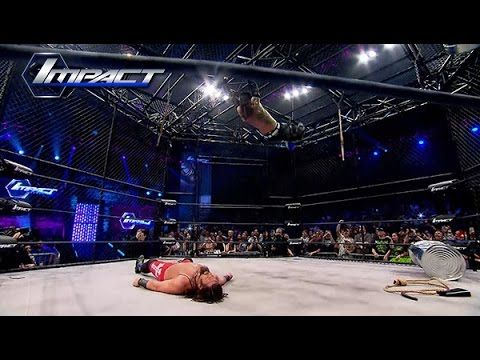 Jeff Hardy vs James Storm in 6 Sides of Steel (Mar. 27, 2015)