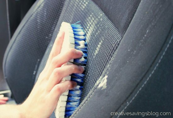 DIY Car Upholstery Cleaner #cleaningcars