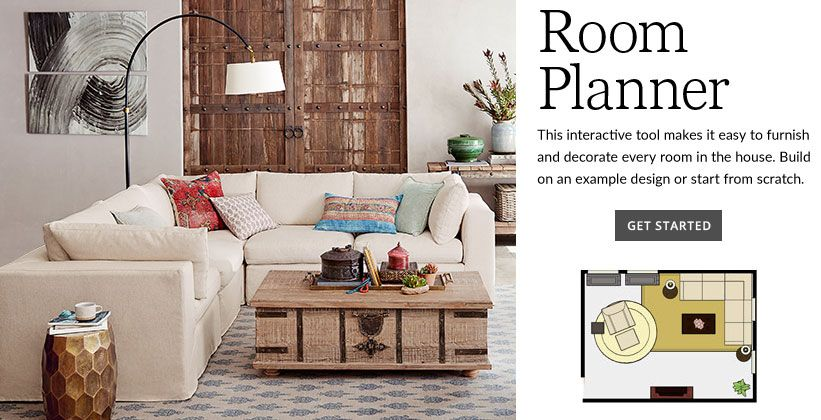Pottery Barn Room Planner Create Rooms In Your Home And
