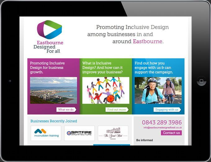 for All   Eastbourne Designed for All Website